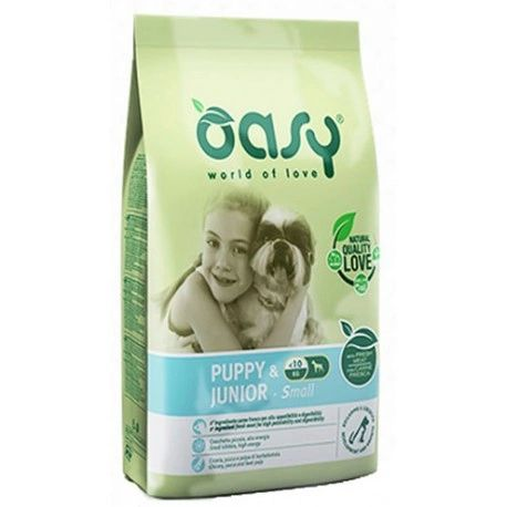 OASY PUPPY & JUNIOR SMALL BREED 3kg