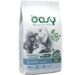 OASY PUPPY & JUNIOR MINI LAMB 2.5kg