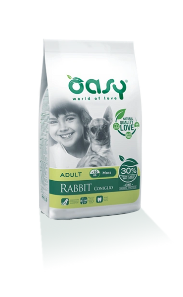 OASY ADULT MINI RABBIT - 2.5kg