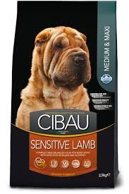 CIBAU SENSITIVE LAMB MEDIUM & MAXI BREED 2.5kg