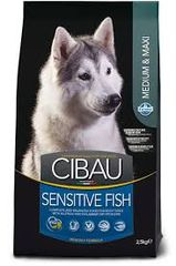 CIBAU SENSITIVE FISH MEDIUM & MAXI BREED 2.5kg