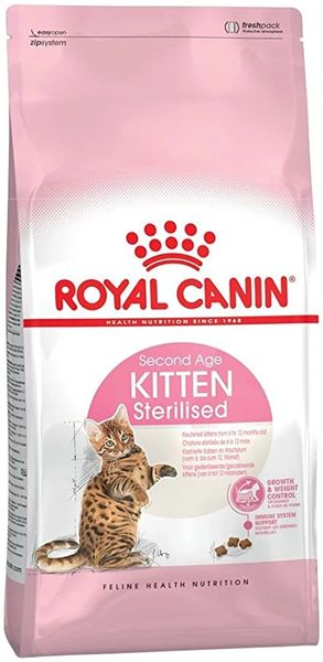 ROYAL CANIN SECOND AGE KITTEN STERILISED