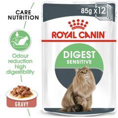 ROYAL CANIN DIGEST SENSITIVE (Gravy) 85gr - 12