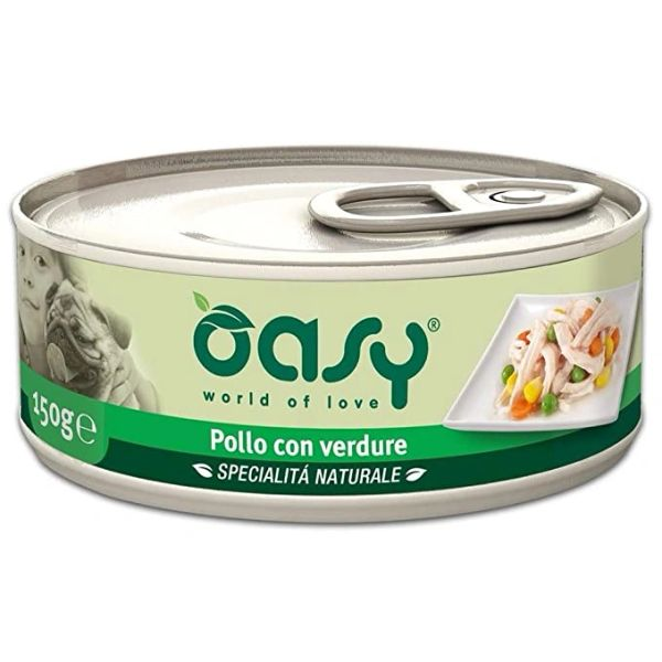 OASY PATE - CHICKEN WITH VEGETABLES 150GR