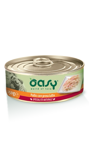 OASY DOG PATE CHICKEN HAM - 150GR