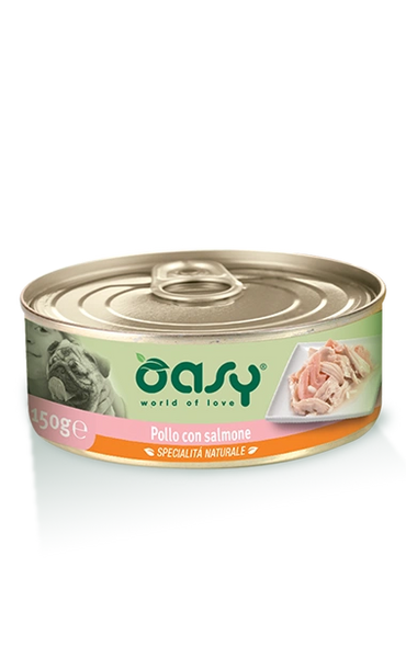OASY DOG PATE CHICKEN SALMON - 150GR