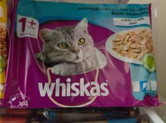 WHISKAS FISK SELECTION in Jelly x 4 (100gr)