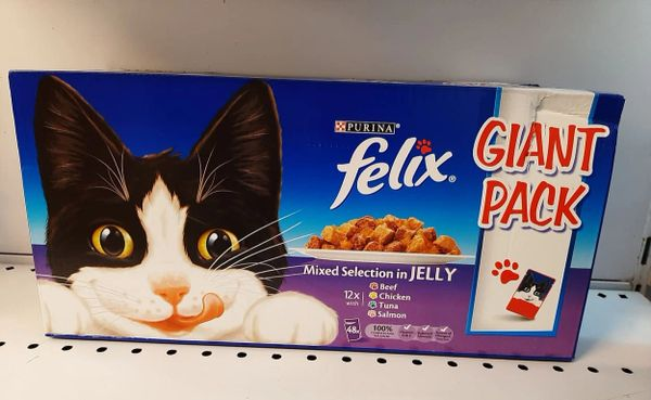FELIX Mixed Selection in Jelly Giant Pack x 48