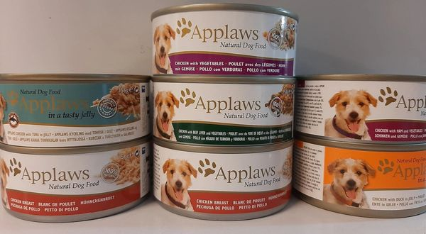 APPLAWS NATURAL DOG FOOD - 156gr Tins
