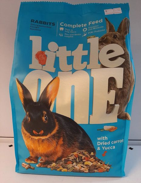 LITTLE ONE COMPLETE FEED - Rabbits - 900gr