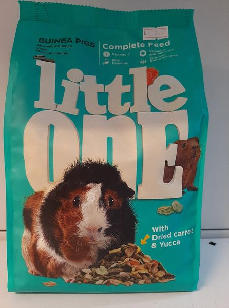 LITTLE ONE COMPLETE FOOD GUINEA PIGS x 900gr