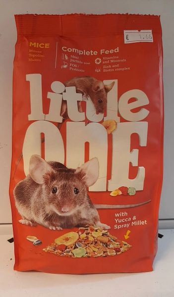 LITTLE ONE COMPLETE FOOD MICE - 900gr