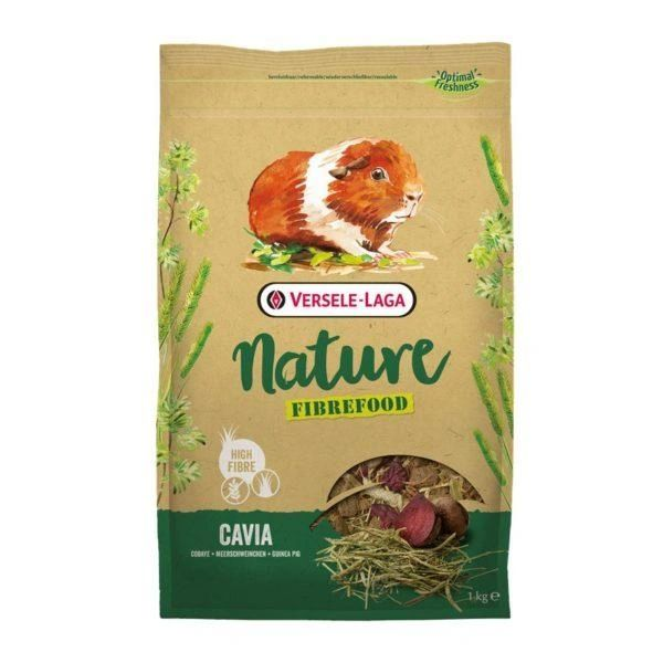 VERSELE LAGA NATURE FIBREFOOD CAVIA (GUINEA PIG) - 1kg