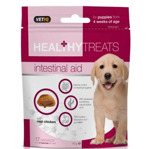 VETIQ HEALTHY TREATS INTESTINAL AID - 50gr