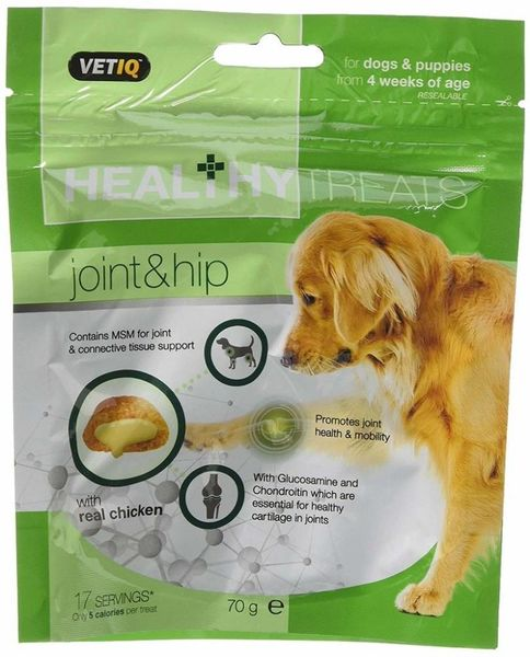 VETIQ HEALTHY TREATS JOINT & HIP - 70gr