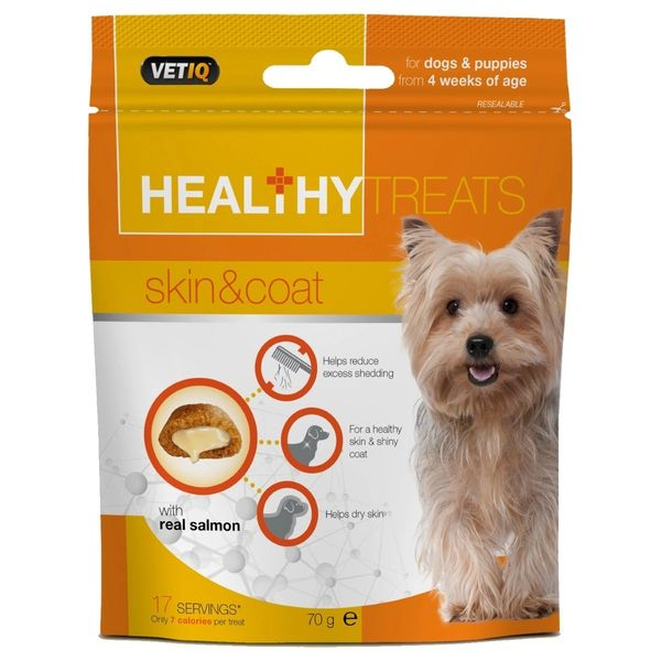 VETIQ HEALTHY TREATS SKIN & COAT - 70gr