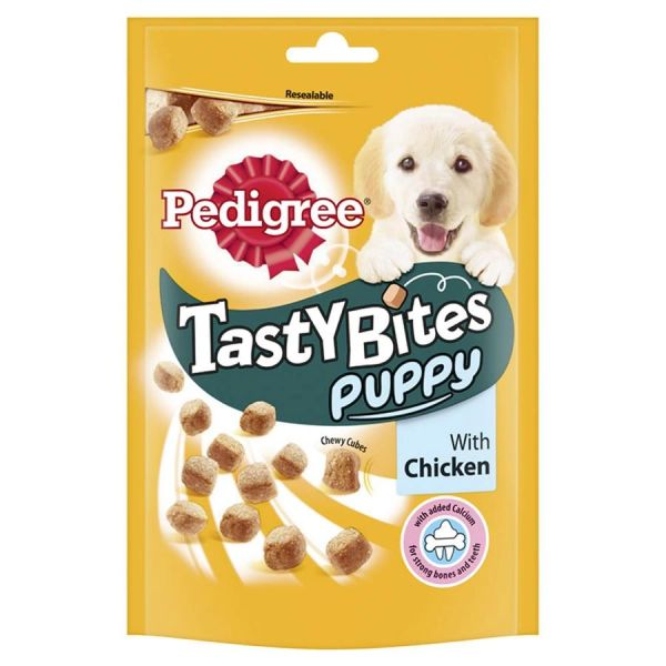 PEDIGREE TASTY BITES PUPPY CHICKEN - 125gr