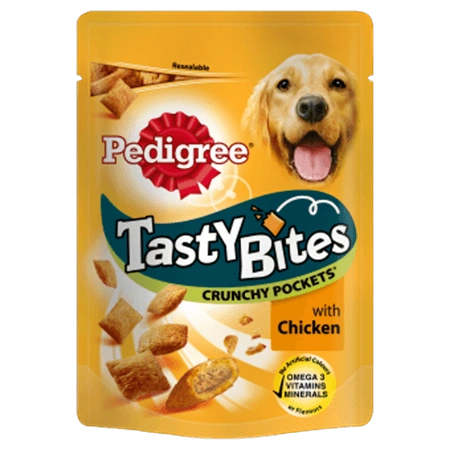 PEDIGREE BITES CRUNCHY POCKETS - 95gr