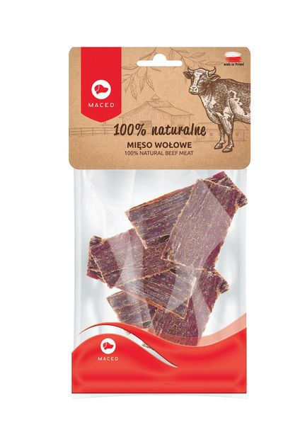 MACED 100% NATURAL BEEF MEAT - 60gr