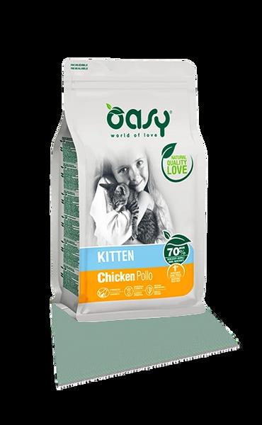 OASY KITTEN (1 - 12months) CHICKEN
