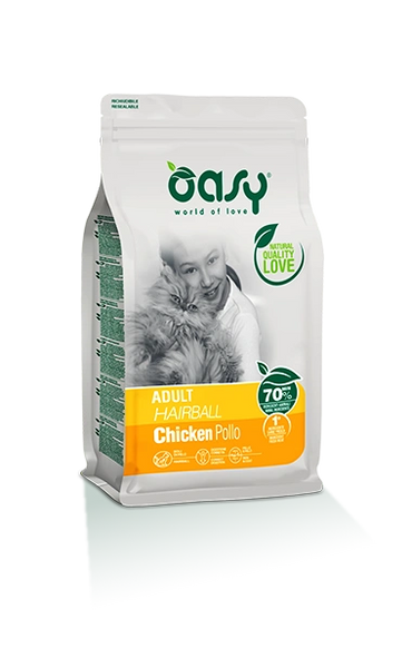 OASY ADULT CAT CHICKEN HAIRBALL