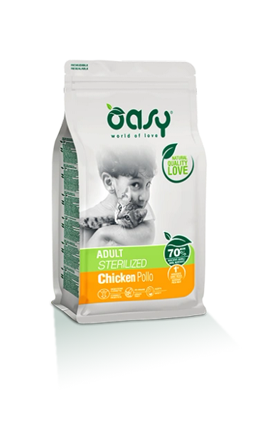 OASY ADULT CAT CHICKEN STERILIZED