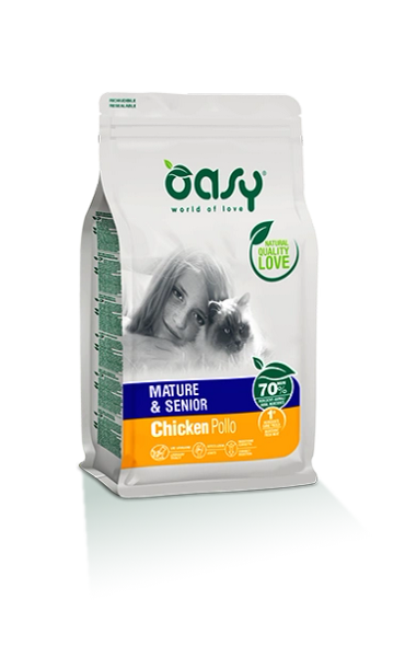 OASY ADULT CHICKEN MATURE & SENIOR