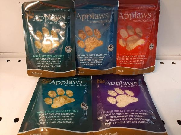 APPLAWS POUCHES 70gr