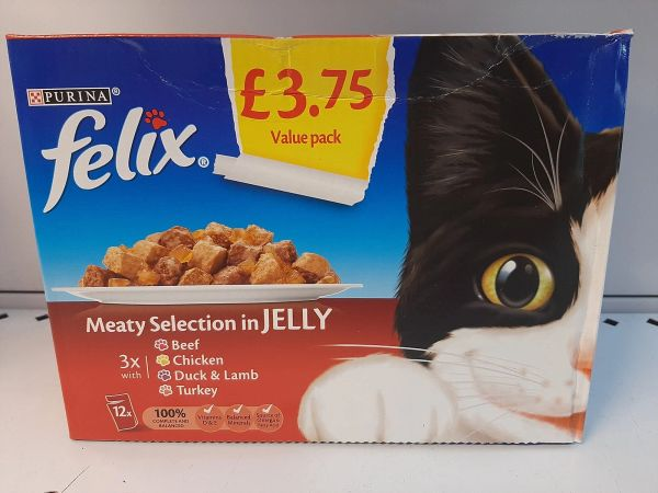 FELIX Meaty Selection in Jelly x 12