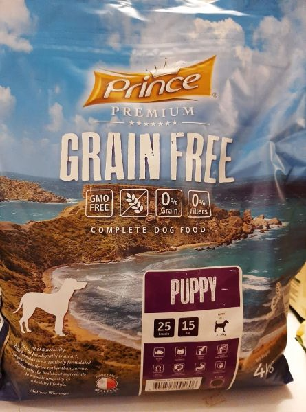 PRINCE GRAIN FREE PUPPY M/L BREED - 4kg