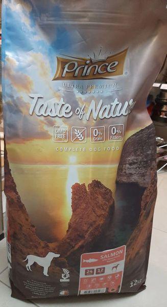 PRINCE TASTE OF NATURE - SALMON 12KG