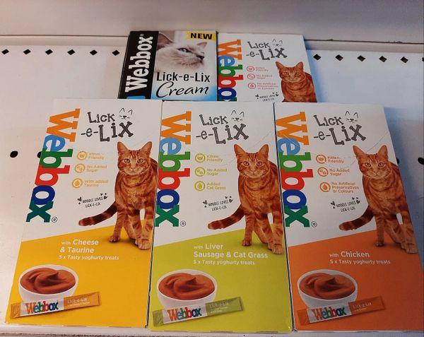 WEBBOX LICK-E-LIX x 5