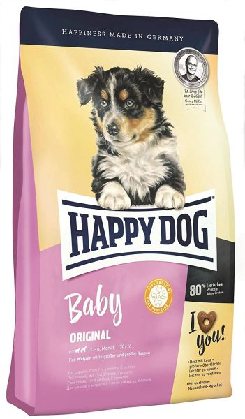 HAPPY DOG BABY ORIGINAL 1 - 6 months - 1kg