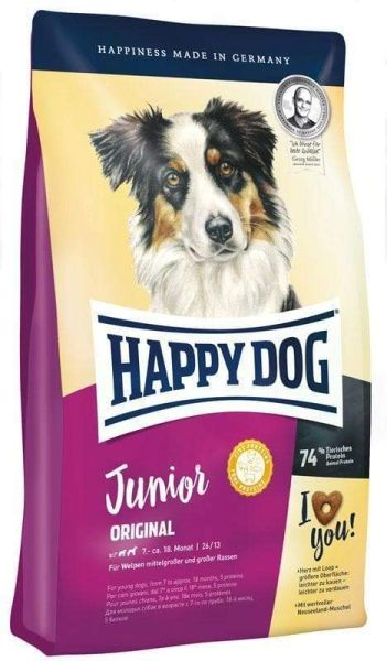 HAPPY DOG JUNIOR ORIGINAL 7 - 18 months - 1kg