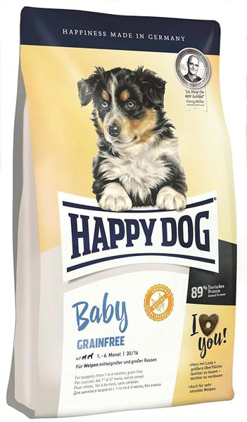 HAPPY DOG GRAIN FREE 1 - 6 months - 1kg
