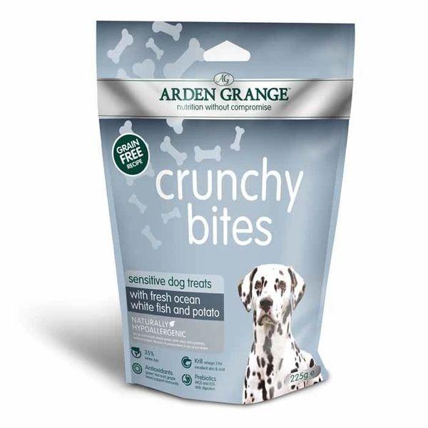ARDEN GRANGE CRUNCHY BITES - sensitive dog treats (235gr)