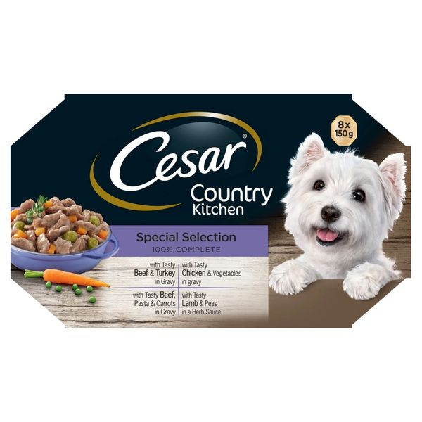 CESAR COUNTRY SPECIAL SELECTION 8 X 150gr