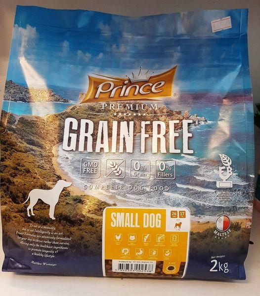 PRINCE PREMIUM GRAIN FREE SMALL DOG - 2kg