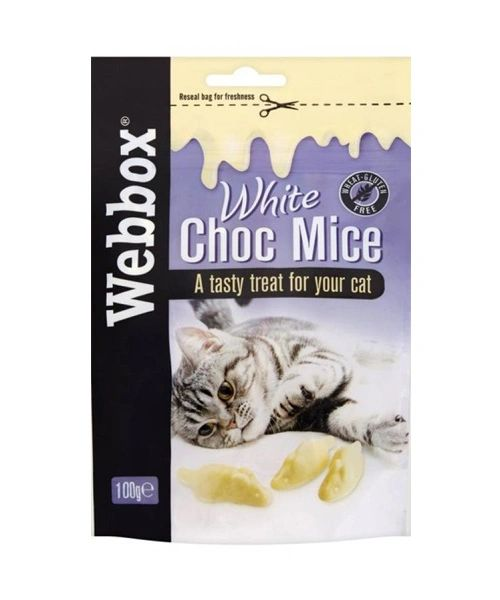 WEBBOX WHITE CHOCLATE MOUSE 100 gr