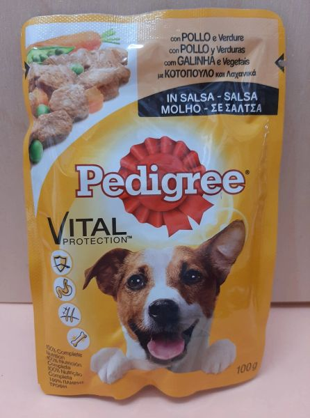 PEDIGREE VITAL CHICKEN IN GRAVY - 100gr