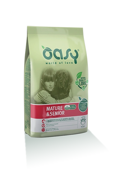 OASY DRY FOOD MATURE AND SENIOR 3kg