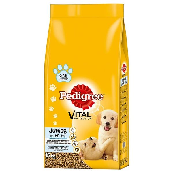 PEDIGREE JUNIOR CHICKEN WITH RICE 2.2kg