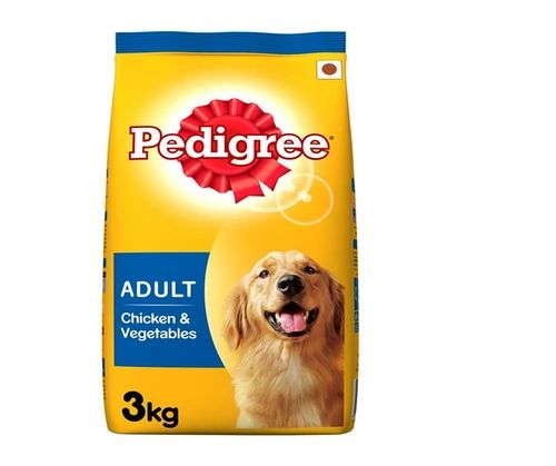 PEDIGREE ADULT CHICKEN AND VEGETABLES 3kg