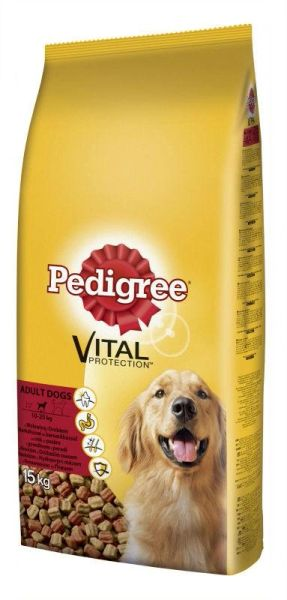 PEDIGREE ADULT BEEF AND VEGETABLES 3kg