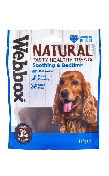 WEBBOX NATURAL TASTY HEALTH TREATS SOOTHING AND BEDTIME