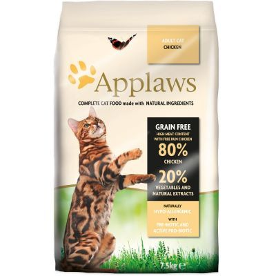 APPLAWS CHICKEN WITH VEGETABLES AND NATURAL EXTRACTS - 2KG