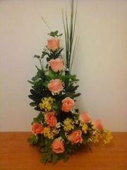 L SHAPE FLOWER ARRANGEMENT