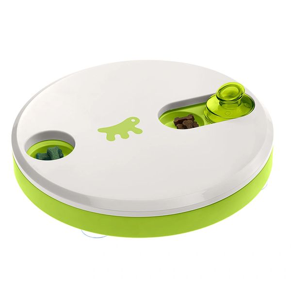 DUO - Activity toy for cats and dogs with hiding places for dry food