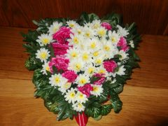 HEART FUNERAL TRIBUTE
