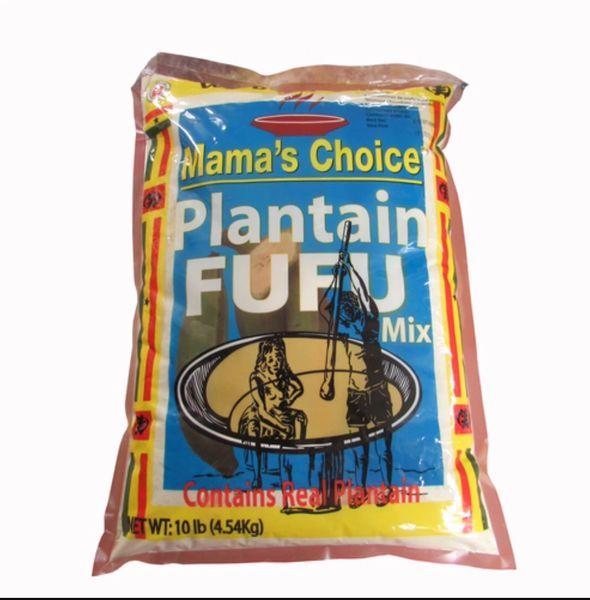 Mama's Choice Plantain Fufu 10lbs